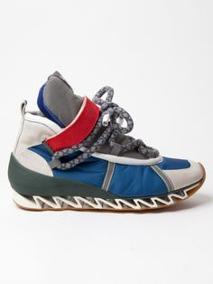 Bernhard Willhelm x Camper Together Hiking Shoe in blue / white at oki-ni