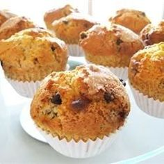 You won't believe how easily and quickly you can have chocolate chip muffins on the table using this recipe.