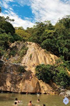 Cascada Chicalá en el departamento del Tolima.
