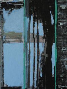 Kjell Nupen Bomuldsfabriken Kunsthall   (5453/28928) Gerhard Richter, Color Shapes, Abstract Art, Objects, John Piper, Inspiring Art, Landscape, Zig Zag, Handmade