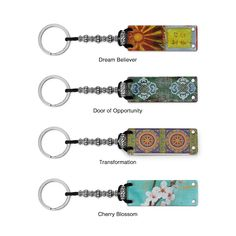 The Fortune Keeper Key Chain helps you hang on those sweet, prophetic words from Fortune Cookies.