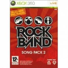 Rock Band Song Pack 2 Solus Game Xbox 360 | http://gamesactions.com shares #new #latest #videogames #games for #pc #psp #ps3 #wii #xbox #nintendo #3ds