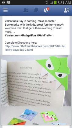 Kids craft. Cute idea