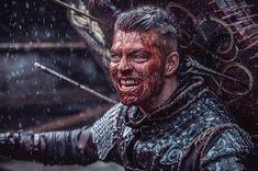 Alex Høgh as Ivar The Boneless | Vikings TV show
