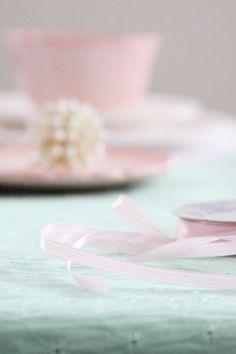 Pale pink ribbon