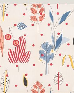 Textile Design (leaves)