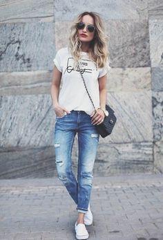 джинсы бойфренды 2016 женские фото