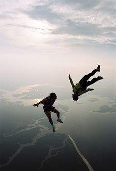 I would go skydiving once in my life