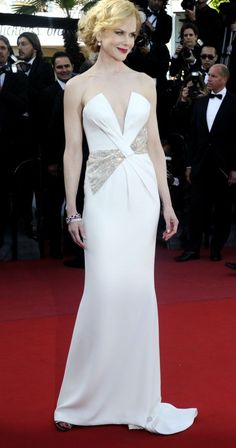 Jury member Nicole Kidman in Giorgio Amani at the closing ceremony of the 66th Cannes Film Festival in Cannes, May 26, 2013.
