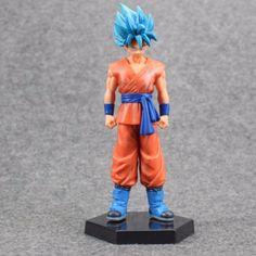 Dragon Ball Z Son Goku & Vegeta Super Saiyan God Action Figurines