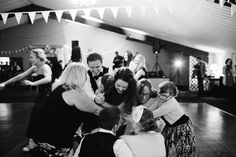 The awesome chaos of a ceilidh | Chris + Betty's music inspired wedding at Lissanoure Castle Ireland by Honey and the Moon Photography www.honeyandthemoonphotography.co.uk