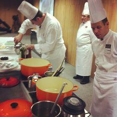 Chef Larrat e Chef David Mansaud juntos. Imaginem o resultado dos pratos...