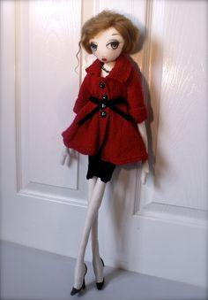 Fashion Cloth Rag Art Doll Handmade OOAK Bobby Doll by PlasticCity