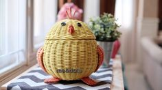 rattan baskets chicky