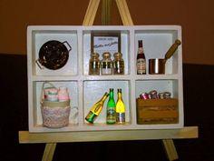 ハンドメイド キッチン雑貨ディスプレイ Handmade interior goods ¥200yen 〆04月10日