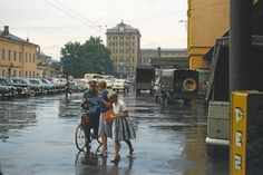 Amazing Pics Capture Street Scenes of Salzburg in the Early 1960s ~ Vintage Everyday Baroque Architecture, Amazing Pics, Sound Of Music, Salzburg, Capital City, Colorful Pictures, Alps, Short Film, 18th Century