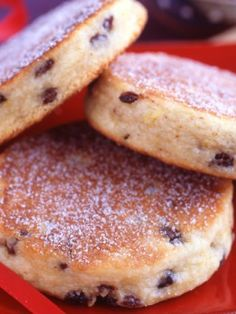 Welsh Cookies : These unusual, can't-miss cookies are cooked on a griddle or a frying pan until golden brown.