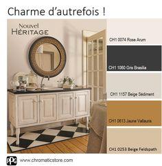 Ces #couleurs intemporelles très douces créent une atmosphère particulièrement #authentique. www.chromaticstore.com
