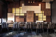Gaspar fusion eatery by Autoban. #design #interiordesignmagazine #interiordesign