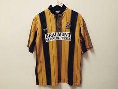 Cambridge United (home) Cambridge United Fc, Vintage Football Shirts, The Unit, Tops, Fashion, Moda, Fashion Styles, Fashion Illustrations