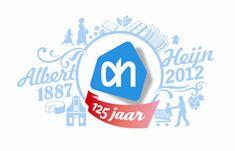 125 Years of Albert Heijn (The Netherlands) Anniversary Logo, Disney, Accessories, September 10, Netherlands, Logos, Google, Speech Language Therapy, The Nederlands