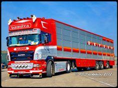 Heavy Duty Trucks, Big Rig Trucks, New Trucks, Cool Trucks, Train Truck, Road Train, Customised Trucks, Custom Big Rigs, Livestock