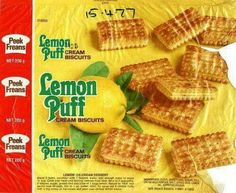 Loved these lemon puffs. Only got them as a treat though.