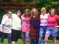 Looking for brother born 1-8-70 Lewiston, ME