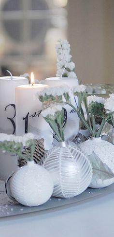 ¡No te pierdas este hermoso centro de mesa para navidad! #Christmas