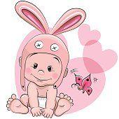 Bebê bonito desenho