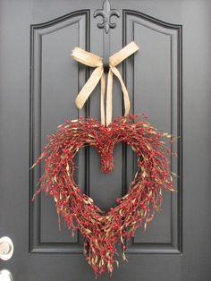 Tame My Heart - Valentine's Wreath