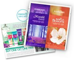 Check out this free sample from Blissful Body Hydrating Body Cream