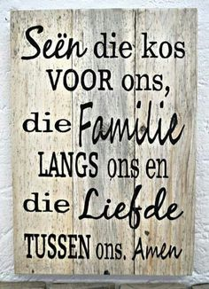 Tafelgebed More Wall Quotes, Bible Quotes, Bible Verses, Afrikaanse Quotes, Bible Prayers, Dear God, Trust God, Word Art, Christian Quotes
