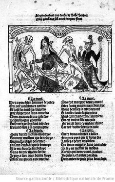 Cy est la Danse Macabre des Femmes Toute Hystoriée et Augmentée', 1491