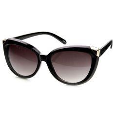 Mod Retro Oversize Bold Cat Eye Womens Fashion Sunglasses 9224 | zeroUV