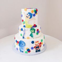 Southern Blue Celebrations: More Inside Out Cake Ideas