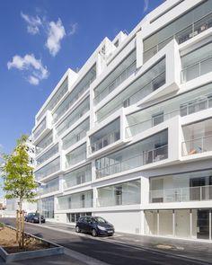 Winter gardens by Bartolo Villemard Architecture Urbanisme (BVAU) as Architects
