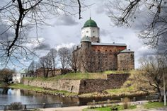 Via Flickr: Vyborg Castle is a Swedish built medieval fortress around which the town of Vyborg, Russia evolved. Currently it is a museum. Vyborg Castle was one of the three major castles of Finland. It was built as the easternmost outpost of the medieval Kingdom of Sweden. It was originally constructed in the 1290s. by Peer.Gynt on Flickr.