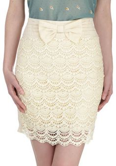 Girl In Charge Skirt, #ModCloth