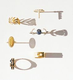 Unconventional engagement rings- that top left one is gorgeous