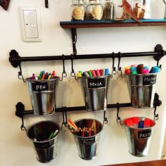 18 Completely Genius Home Organizing Hacks from JapanThese space-saving organizing hacks come from Japan and they are absolutely brilliant! In this post, you will learn how to organize nearly every room . Cord Organization, Home Organization Hacks, Organizing Ideas, Wire Grid Panels, Plastic Bins, Bathroom Essentials, Toy Rooms, Neat And Tidy, Little Kitchen