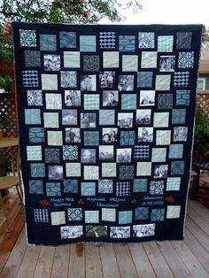 A 90th Birthday Quilt Using Curious Nature Fabric Line Parties 75th