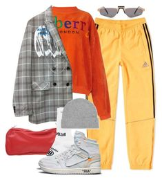 """""""Sans titre #1160"""" by a4styled ❤ liked on Polyvore featuring adidas, Andy Wolf, MM6 Maison Margiela and Balenciaga"""