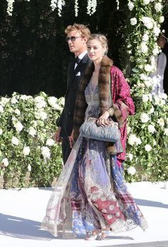 Party Fashion, Boho Fashion, Celebrity Couples, Celebrity Style, Beatrice Borromeo, Party Mode, Cocktail Outfit, Smart Outfit, Bohemian Mode
