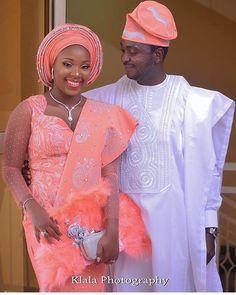 Peach perfect #asoebi #asoebispecial #speciallovers #makeup #wedding