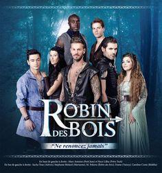 "the cast of ""Robin des bois"""