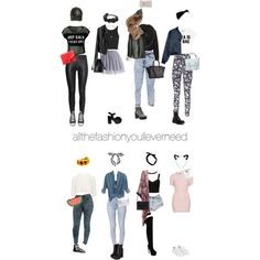 headband and a leather pants by allthefashionyoulleverneed on Polyvore featuring мода, Motel, Topshop, Forever New, Boohoo, Monki, Grayce, H&M, Bullhead Denim Co. and Chicwish
