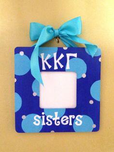 Kappa Kappa Gamma picture frame by MadisonStudio on Etsy, $14.95