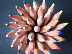 Adore pencils - this bouquet of them says two words to me: endless possibilities!