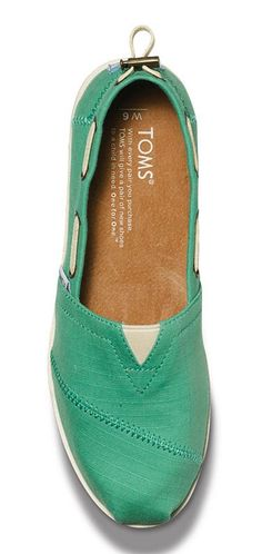 #swag Green Nautical TOMS...